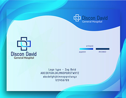 Hospital logo branding