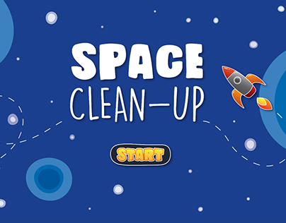 """SPACE CLEAN-UP"" user interface project"