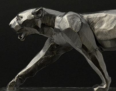 Art Decó Panther