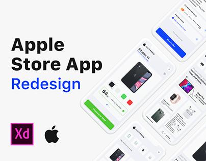 Apple Store App Redesign