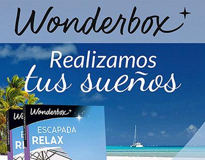 Campaña Online Wonderbox