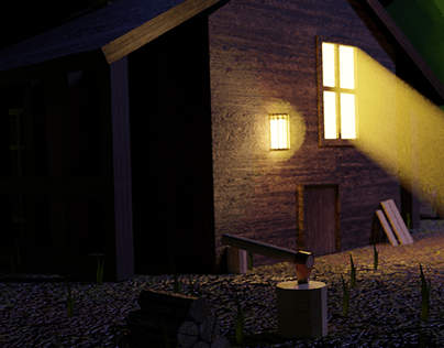 Low Poly Cabin.