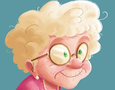Pineapple Grandma