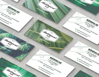 MEDITROPICAL B&B Branding and Business cards