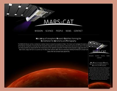 MARS-CAT Website
