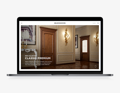Site-presentation for Belwooddoors.com