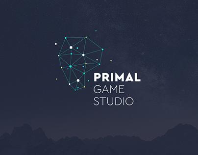 Primal Game Studio - Branding concepts