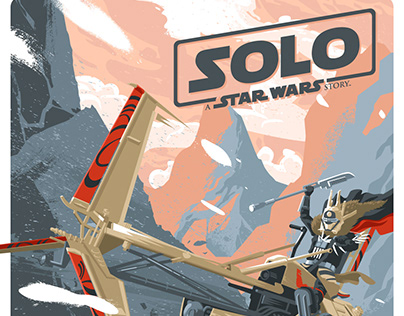 Solo. Enfys Nest illustration
