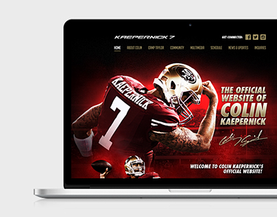 Kaepernick 7 Homepage