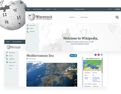 UI Case Study: Wikipedia redesign