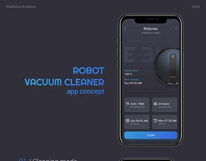 Vacuum cleaner app