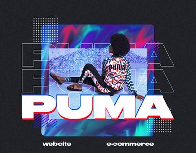 PUMA (Redesign e-Commerce)