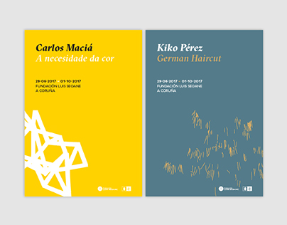 Carlos Maciá · Kiko Pérez / Art exhibitions