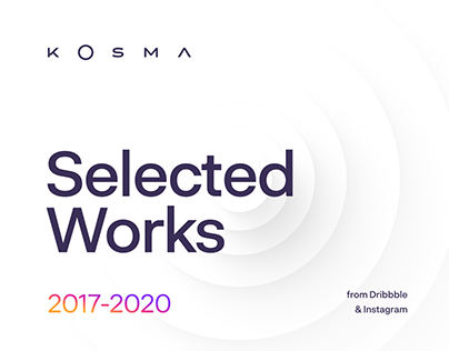 Selected Works 2017 - 2020