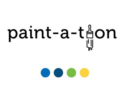 Paint-a-thon Community Service Project Campaign