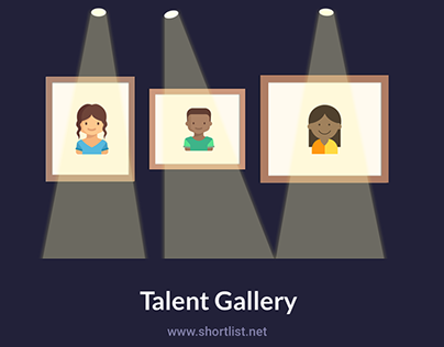 Shortlist's Talent Gallery: Case Study