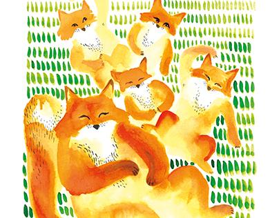 "Postcards ""Send with Fox"""
