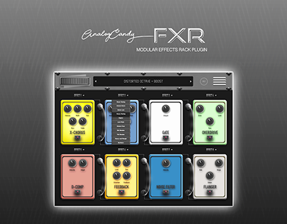 FXR (Effects Rack) Modular Processing Unit Plugin