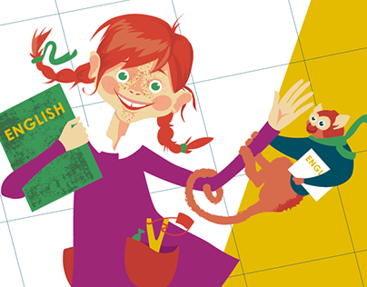 KID'S CLASS branding&illustrations