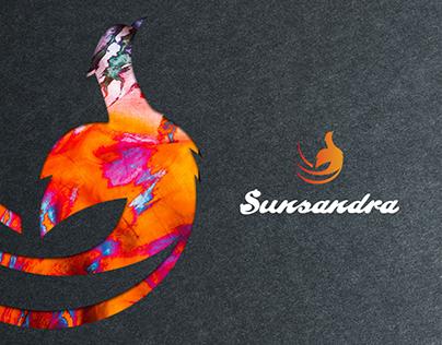 Sunsandra || logo