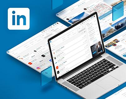 LinkedIn UX Redesign