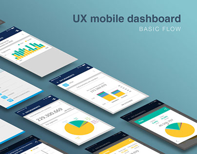 UX Mobile Dashboard