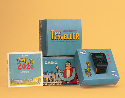 Time traveller Casio Calculator Watch Limited Edition
