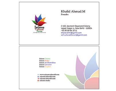 Business card for SCF