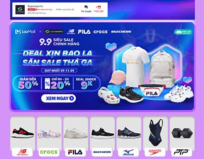 [SUPERSPORTS x LAZADA] 9.9 CAMPAIGN
