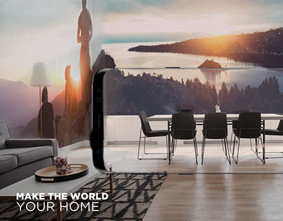 Samsung S8   Make the world your home