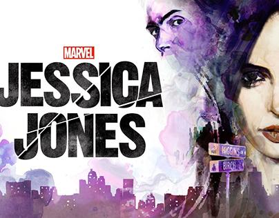 Netflix - Jessica Jones - MailOnline Takeover