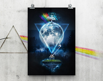 GRAPHIC DESIGN - Pink Floyd Concept Art