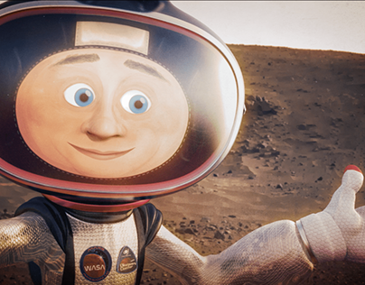 Cosmonut's Selfie Snacks on Mars