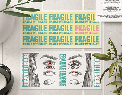 FRAGILE ROUTINES - Mixed Media Project