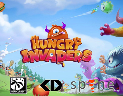 Spine Animation | Hungry Invaders