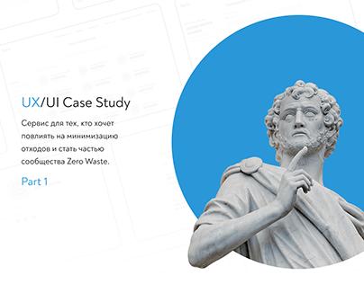 Zer0 | UX/UI Case study Part 1 (UX)