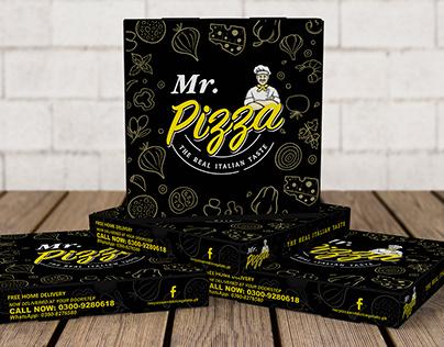 Mr. Pizza Box Design