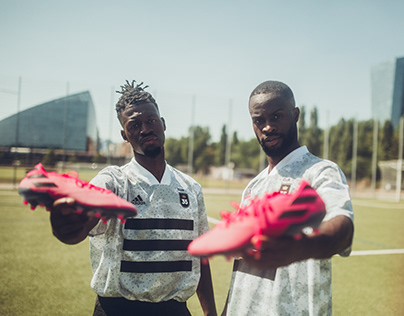showing skills with the new adidas Hardwired pack
