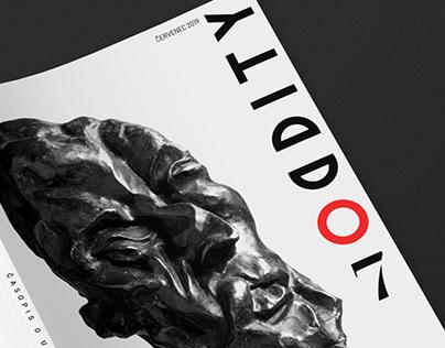 ODDITY editorial design