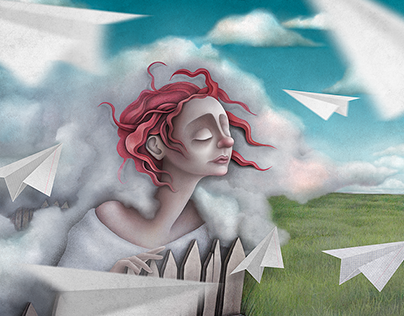 Illustration from series: Looking for inspiration II