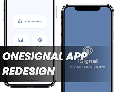 OneSignal app redesign