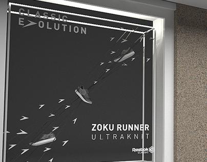 Reebok Zoku Runner window