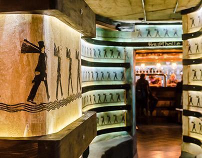 """Bierkeller pub"" interior photoes"