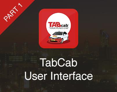 TabCab iOS User Interface (Part 1)