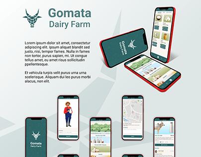Gomata Dairy App Project
