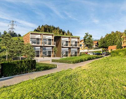 3D Architectural visualization - Switzerland