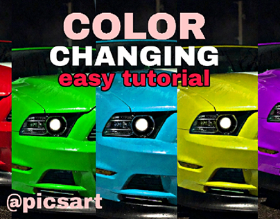Colour Changing Tutorial with @picsart