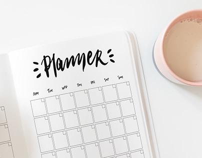 Planner Personal work