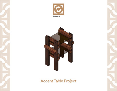 Accent Table Project