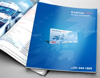 Kadıköycard Brochure and ID Card